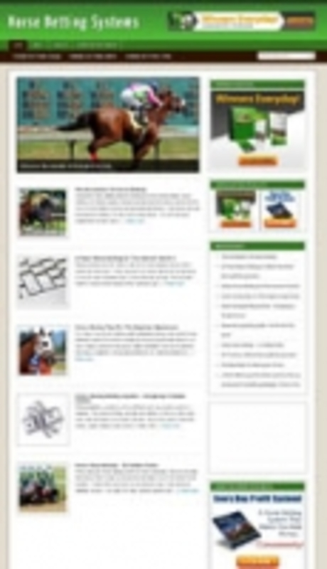 Pay for Horse Betting Niche Blog