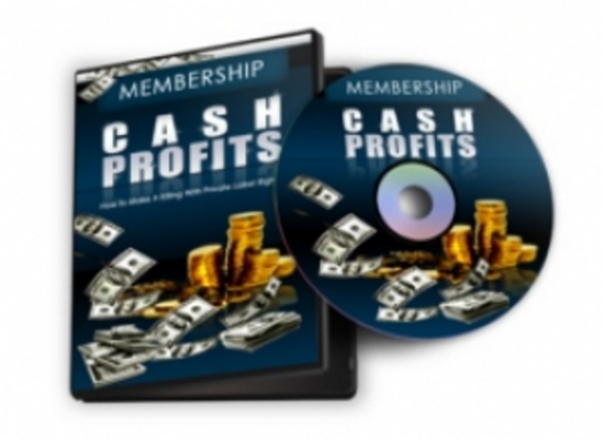 Pay for Membership Cash Profits Video course