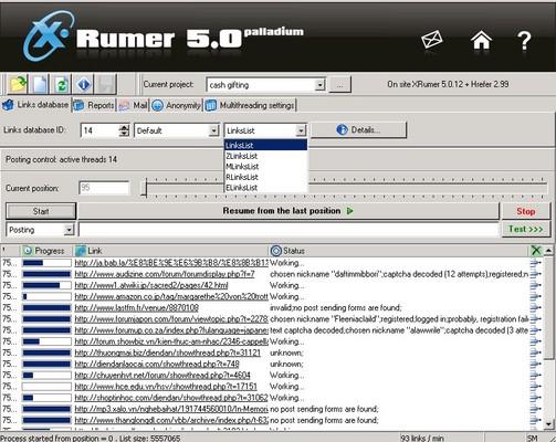 Xrumer продвижение сайта раскрутка осуществление