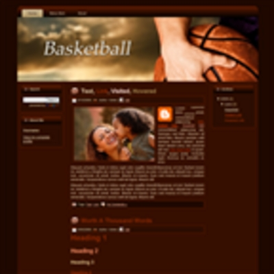 Pay for Basketball WP Theme Graphics