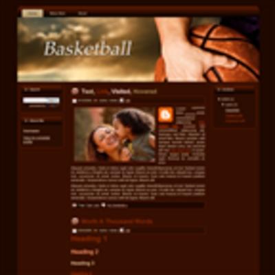 Pay for Basketball WP Theme Graphics