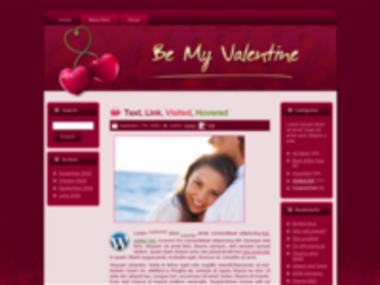 Pay for 3 Valentines Day HTML & WP Templates Graphics