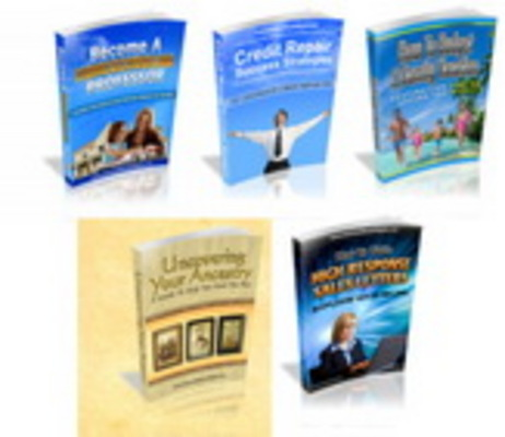 Pay for 5 MRR eBook Pack