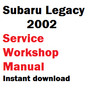 Thumbnail Subaru Legacy 2002 service workshop manual