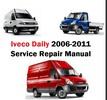 Thumbnail Iveco Daily Service Repair Manual Euro 4 2006 - 2011