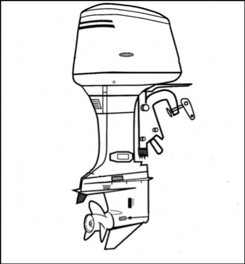 mercury 40 hp outboard service manual