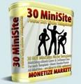 Thumbnail 30 MiniSites Templates - Monetize Your Market
