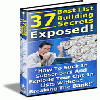 Thumbnail 37 Of The Best Most Profitable Opt-in List Building Secrets