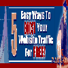 Thumbnail 5 Easy Ways To Boost Your Website Traffic For Free
