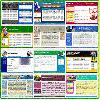 Thumbnail 55 Web Site Templates