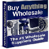 Thumbnail Buy Anything Wholesale - The #1 Wholesale Suppliers Guide