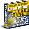 Thumbnail Create Your Own E-book Without Ever Writing A Word