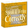 Thumbnail How To Speak And Write Correctly