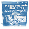 Thumbnail Magic Formula Mini Sites - Get The Insider Secrets To Making Multiple Streams Of Income With PROFITABLE Mini Sites!