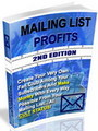 Thumbnail Mailing List Profits - Make Money With Every Way Possible From Your Mailing List