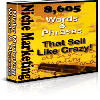 Thumbnail 8,605 Niche Marketing Words And Phrases That Sell Like Crazy!