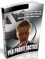 Thumbnail PLR Profit Tactics - Make Handsome Profits Off Private Label Content