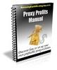 Thumbnail Proxy Profits Manual