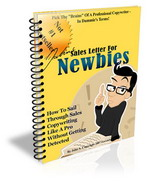 Thumbnail Sales Letter For Newbies - How To Write Sales Letter Like A Pro