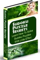 Thumbnail Sudoku Puzzle Secrets - Solve Sudoku Puzzles With Little Effort