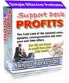 Thumbnail Support Desk Profits Script