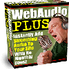 Thumbnail Web Audio Plus - Instantly Add Streaming Audio To Your Site With No Monthly Fees!