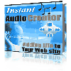 Thumbnail Instant Audio Creator - Adding Audio To Web Sites Within Minutes