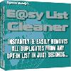 Thumbnail Easy E-Mail List Cleaner