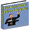 Thumbnail Public Speaking Guide