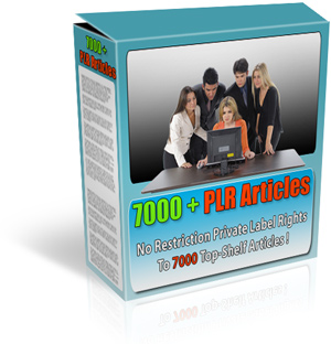 Pay for 7000+ PLR Articles