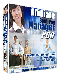 Pay for Affiliate Split-Pay Manager Pro - Automated Comissions Instantly - Happy Affiliates - More Sales