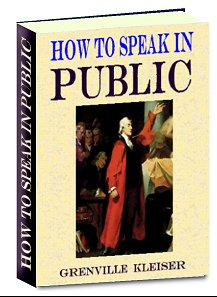 Pay for How to Speak In Public