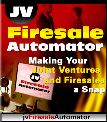 Pay for Joint Ventures FireSale Automator