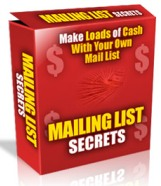 Pay for Mailing List Profits - Make Money With Every Way Possible From Your Mailing List At Cult Status!