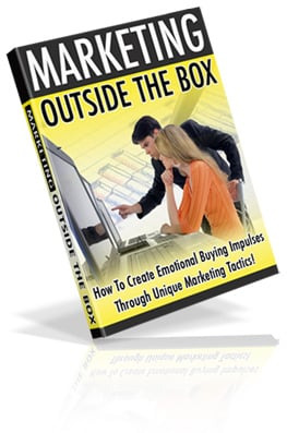 Pay for Marketing Outside The Box - Create Buying Impulses Through U