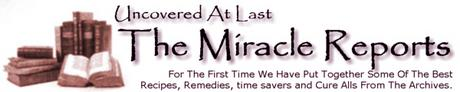 Pay for Miracle Reports - The Miracle Of Vinegar, Benefits Of Baking Soda, Sixty Uses For Salt