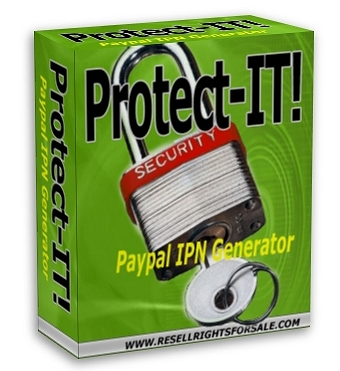 Pay for Protect-IT! - Paypal IPN Protection Generator