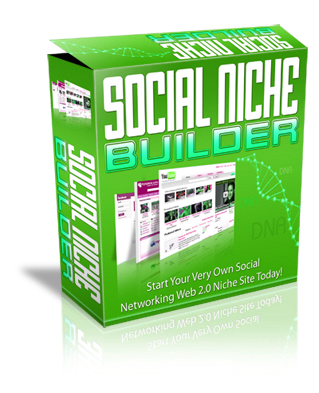 Pay for Social Niche Builder - Start Social Networking Web 2.0 Niche