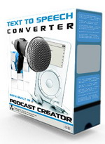 Pay for Text 2 Speech Converter With Built In Podcast Creator