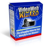 Pay for VideoWebWizard - Put Streaming Videos On Your Website In Just Minutes