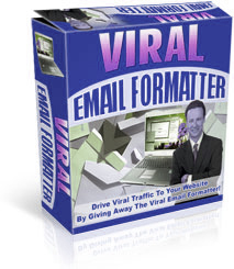 Pay for Viral Email Formatter - Drive Viral Traffic To Website