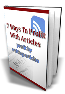 Pay for 7 Ways To Profit With Articles