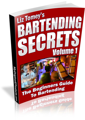 Pay for Bartending Secrets - Beginners Guide To Bartending
