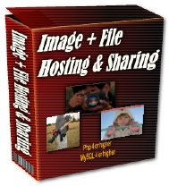 Pay for Image, File Hosting And Sharing Script