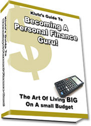 Pay for The Klutz´s Guide to Becoming a Personal Finance Guru!