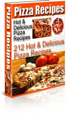 Pay for 212 Hot and Delicious Pizza Recipes