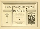 Thumbnail 200 Views of Boston - 1907 Book of Vintage photos of Boston
