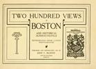 Thumbnail 200 Views of Boston - 1907 Book of Vintage photos of Boston