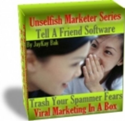 Pay for Tell A Friend - Viral Marketing In A Box