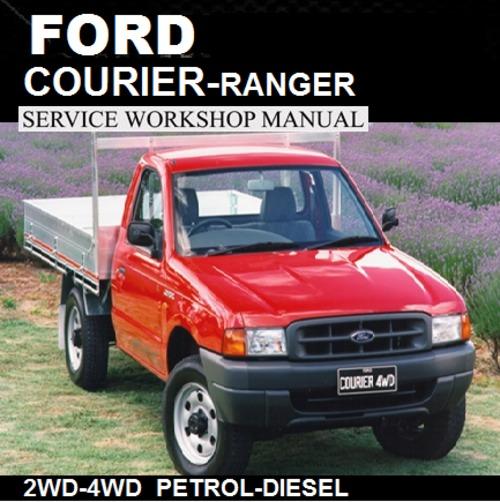 Pay for COURIER / RANGER 1998-2006 PD-PE-PG MODEL WORKSHOP MANU